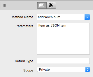 Método para añadir nuevo registro en el Servicio Web