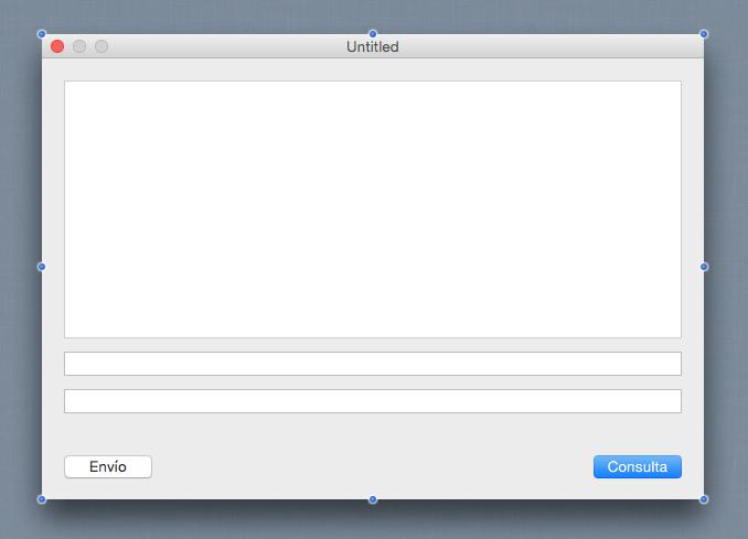 Cliente desktop para Servicio Web