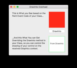 DrawInto: App de ejemplo en funcionamiento